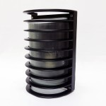 4011 E27 Bulkhead/Weatherproof Fitting (Black)