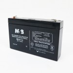 MSB MS6-7.2 6V 7.2AH Non-Spillable Valve Regulated Sealed Rechargeable Lead Battery
