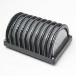 4012 E27 Bulkhead/Weatherproof Fitting (Black)