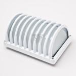 4012 E27 Bulkhead/Weatherproof Fitting (White)