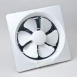 GOLD LUX 8-inch Wall Type PVC Exhaust Fan (White)
