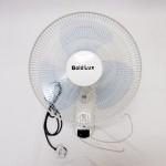 GOLD LUX 16-inch Wall Fan 3 Speeds (White & Grey Blade)